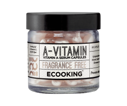 Ecooking Capsules with vitamin A Serum